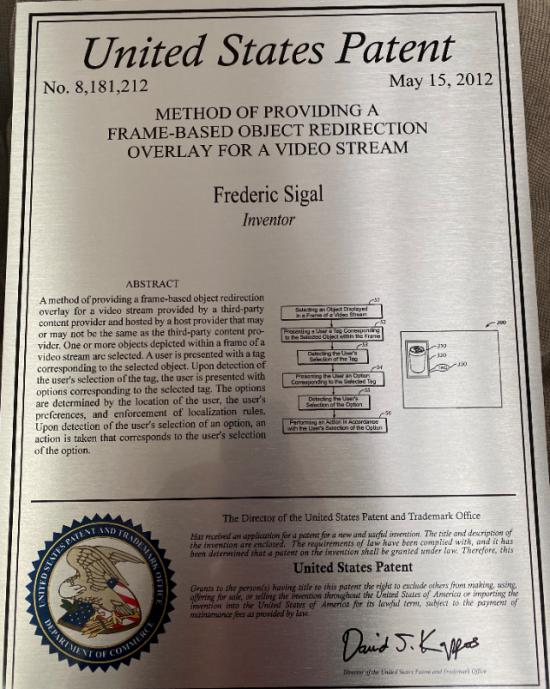 video_stream_patent